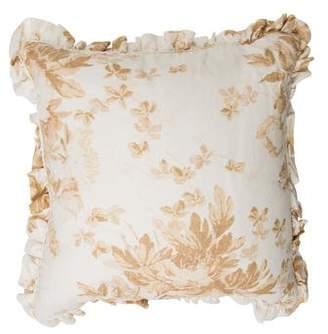 Ralph Lauren Ruffled Linen Pillow