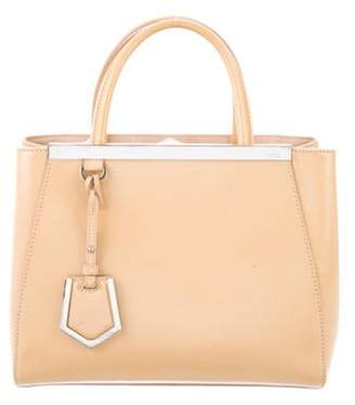 Fendi Patent Leather 2Jours Tote Tan Patent Leather 2Jours Tote