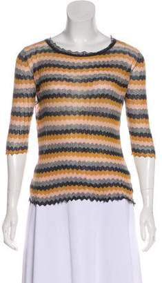 Etoile Isabel Marant Knit Patterned Top