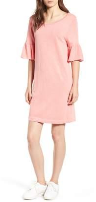 Splendid Ruffle Sleeve Shift Dress