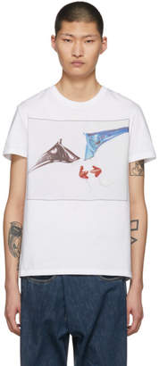 Stella McCartney White Members and Non-Members Only Love Visitor Idol T-Shirt