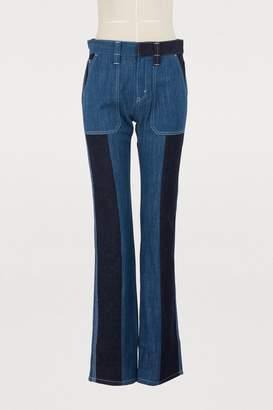 Chloé Bicolor jeans