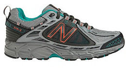 """New Balance 510"""" Lightweight Athletic Shoes - Grey/Teal"""