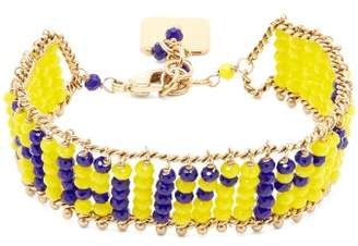 Rosantica By Michela Panero - Happy Beaded Bracelet - Womens - Yellow