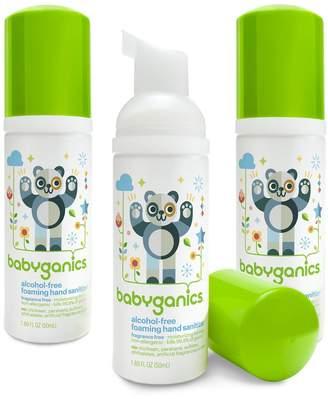 BabyGanics Alcohol-Free Foaming Hand Sanitizer, Fragrance Free, On-The-Go, 50 ml (1.69-Ounce), Pump Bottle