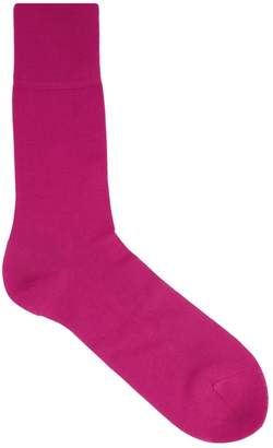 Falke Tiago Fuchsia Cotton-blend Socks