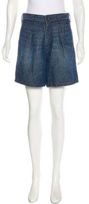 Theyskens' Theory High-Rise Mini Shorts