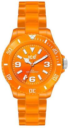 Ice CSOESP10 Women's Classic Solid Small Orange Dial Orange Plastic Bracelet Watch