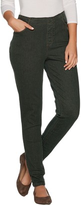 "Denim & Co. How Timeless"" Regular 4-Pocket Denim Jeggings"