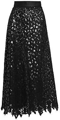 Marc Jacobs Women's Runway Sequin Maxi Skirt