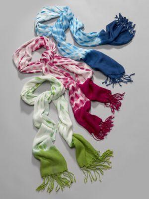 City Style Tie Dye Scarf