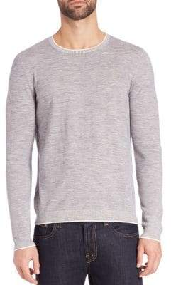 Pal Zileri Merino Wool Crewneck Sweater