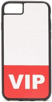 Maison Margiela VIP printed iPhone 8 phone case