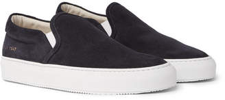 Common Projects Suede Slip-On Sneakers - Men - Black