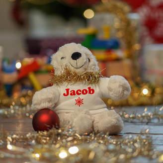 Meenymineymo Personalised Christmas Soft Toy Polar Bear