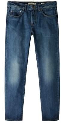 Mango Man MANGO MAN Straight-fit faded dark wash Bob jeans