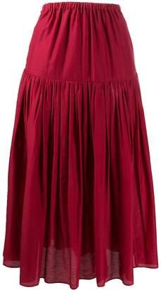 Sara Lanzi tiered bow back skirt