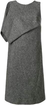 Maison Margiela draped panel shift dress