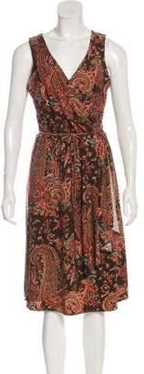 Lauren Ralph Lauren Printed Midi Dress