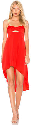 BCBGMAXAZRIA Sabryna Dress in Red $268 thestylecure.com