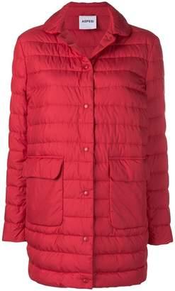 Aspesi longline padded jacket