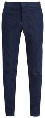 Thom Browne Low-rise straight-leg trousers