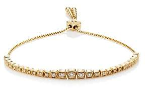 Sara Weinstock Women's Bolo Cup- & Box-Chain Bracelet-Gold