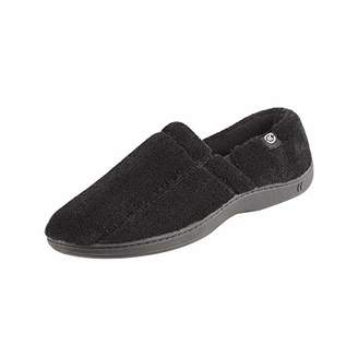 Isotoner Men's Microterry Slip On Slipper