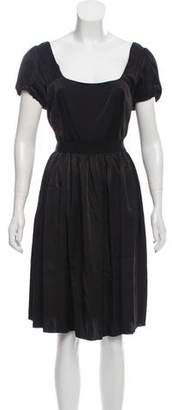 Prada Belted Knee-Length Dress w/ Tags