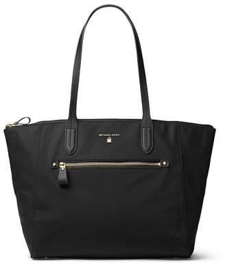 MICHAEL Michael Kors Kelsey Large Nylon Zip Tote Bag