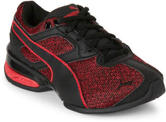 Puma Toddler Boys) Red & Black Tazon 6 Knit Low-Top Sneakers