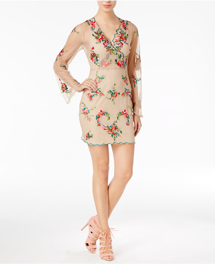 GUESS Delilah Embroidered Dress