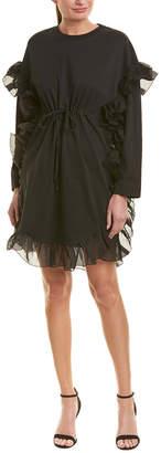 See by Chloe Ruffle Shift Dress