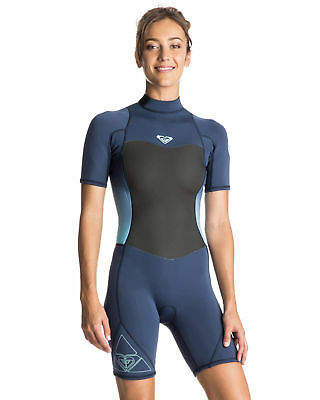 1ba9bfa33e Roxy NEW ROXYTM Womens Syncro 2 2mm Short Sleeve Springsuit Wetsuit 2016  Womens Surf