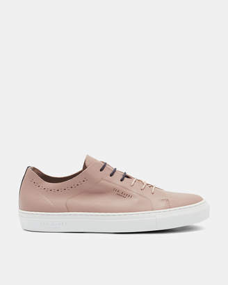 Ted Baker UURLL Contrast sole leather trainers