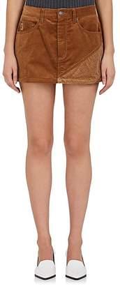 Marc Jacobs Women's Striped Corduroy Miniskirt