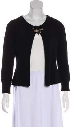 Dolce & Gabbana Wool Long Sleeve Cardigan