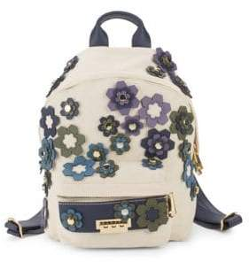 Zac Posen Eartha Multicolored Floral Backpack
