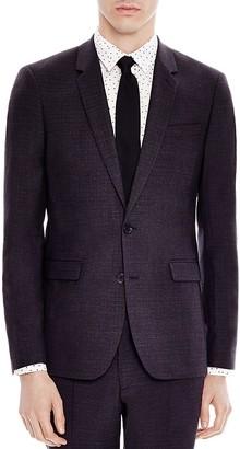 Sandro Notch 50's Slim Fit Sport Coat $695 thestylecure.com