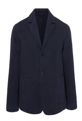 Officine Generale Two-Button Patch Pocket Sport Jacket