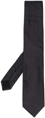 HUGO BOSS micro print tie