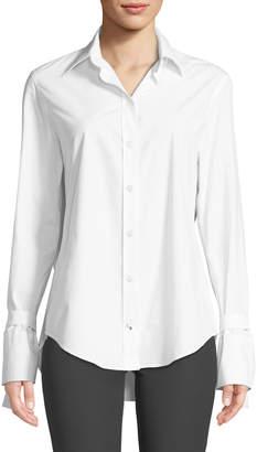 Joseph Ring-Cuff Poplin Shirt