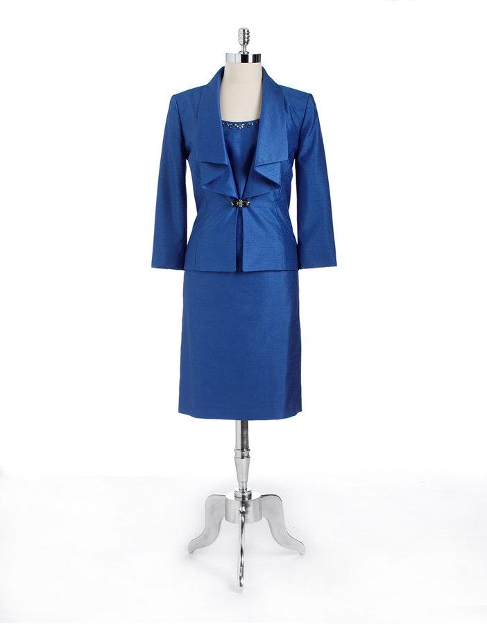 Tahari ARTHUR S. LEVINE Three-Piece Skirt Suit