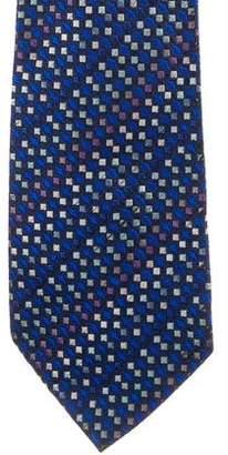 Missoni Jacquard Square Silk Tie