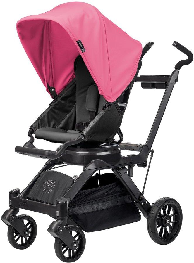 Orbit Baby G3 Stroller - Raspberry - Black - Black