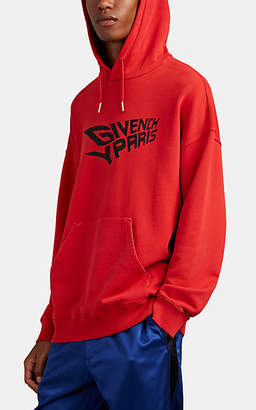 dde804df5 Givenchy Men's Icarus-Logo Cotton French Terry Hoodie - Red