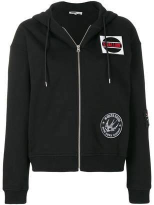McQ swallow patch hoodie