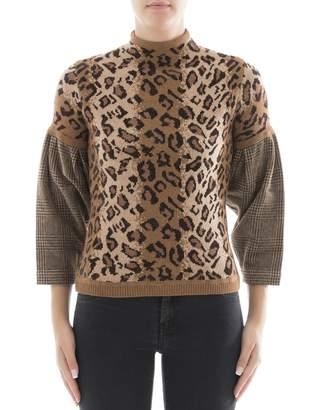 Loewe Brown Wool Sweatshirt