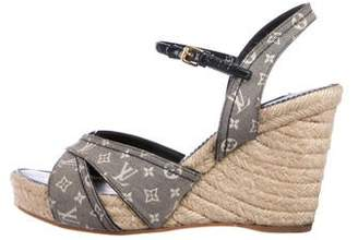 Louis Vuitton Monogram Canvas Sandals