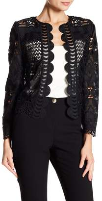 Ted Baker Crop Lace Jacket